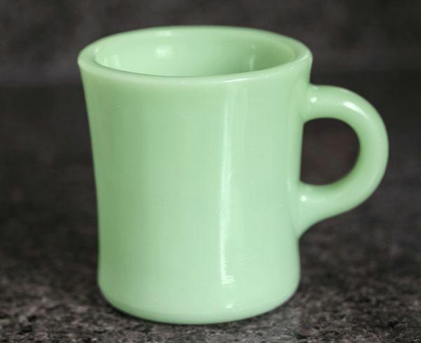 ファイヤーキング マグ ジェダイ レストラン ヘビー 1950年代 耐熱 コーヒー ミルクグラス ビンテージ 雑貨
