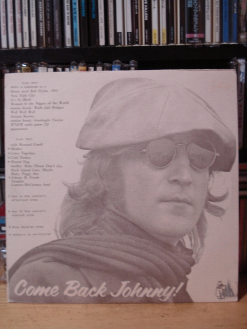 John Lennon/Come Back Johnny! レアブート(MELVIN RECORDS)_画像1