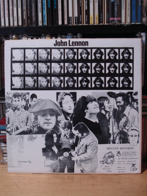 John Lennon/Come Back Johnny! レアブート(MELVIN RECORDS)_画像2