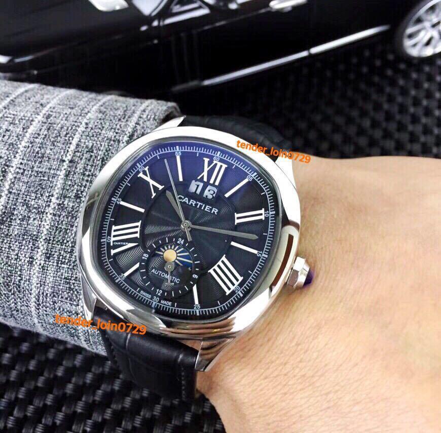 即決あり!☆カルティエ Cartier☆ ドライブ ドゥ カルティエ/オートマチック メンズ 腕時計/カリブル/ダイバー/バロン/パシャ