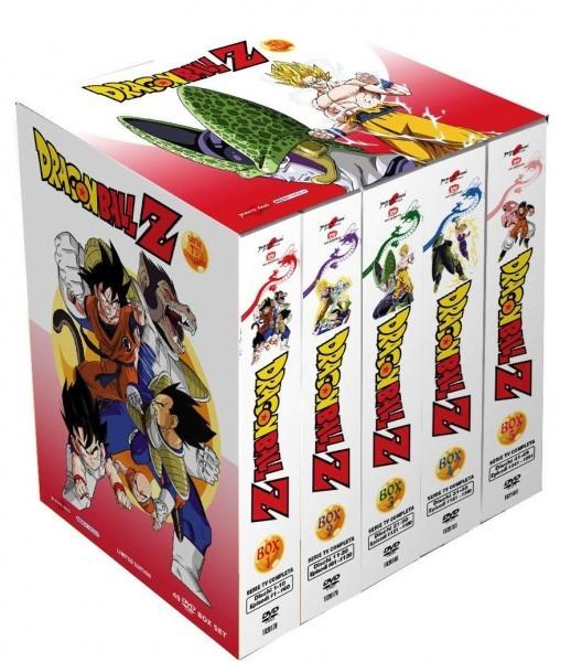ドラゴンボールZ TV版 コンプリート DVD-BOX 全291話, 7275分