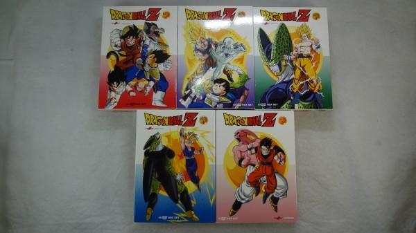 ドラゴンボールZ TV版 コンプリート DVD-BOX 全291話, 7275分_画像2