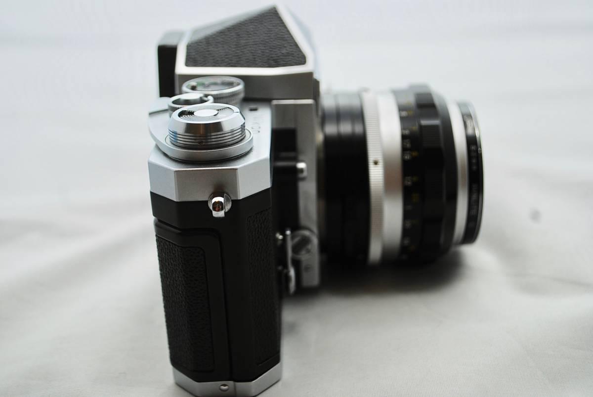◯1円スタート ★美品・シャッター可★ Nikon F NIKKOR 1:1.4 / 50mm ニコン フォトミックFTNファインダー付 #49_画像6
