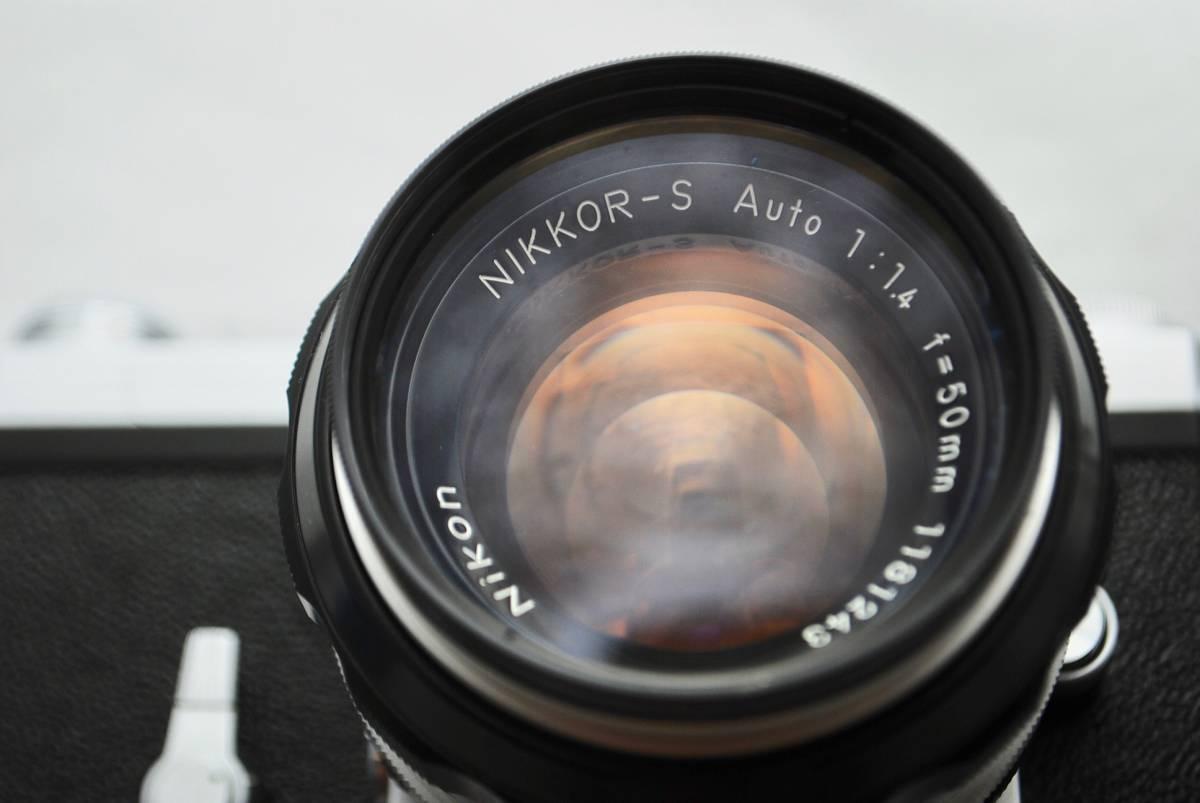 ◯1円スタート ★美品・シャッター可★ Nikon F NIKKOR 1:1.4 / 50mm ニコン フォトミックFTNファインダー付 #49_画像2
