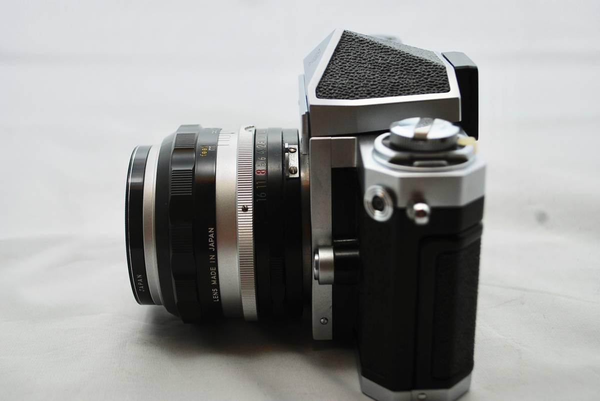 ◯1円スタート ★美品・シャッター可★ Nikon F NIKKOR 1:1.4 / 50mm ニコン フォトミックFTNファインダー付 #49_画像5