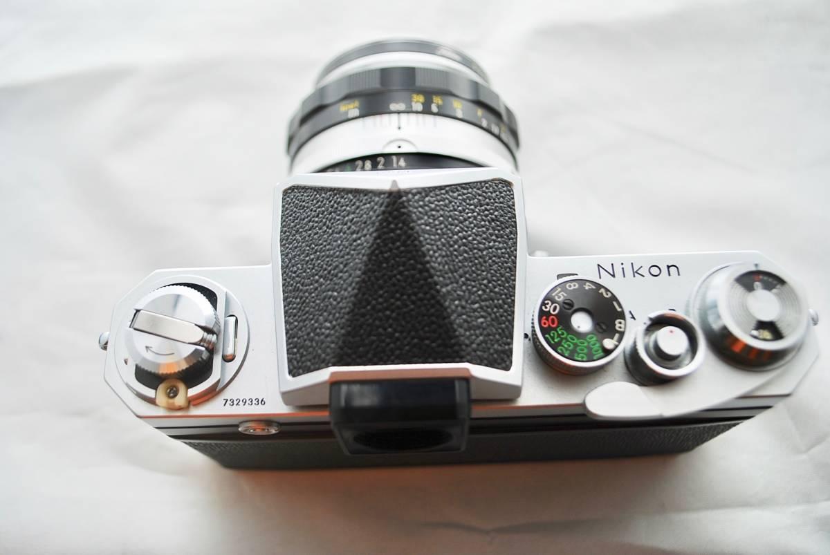 ◯1円スタート ★美品・シャッター可★ Nikon F NIKKOR 1:1.4 / 50mm ニコン フォトミックFTNファインダー付 #49_画像4
