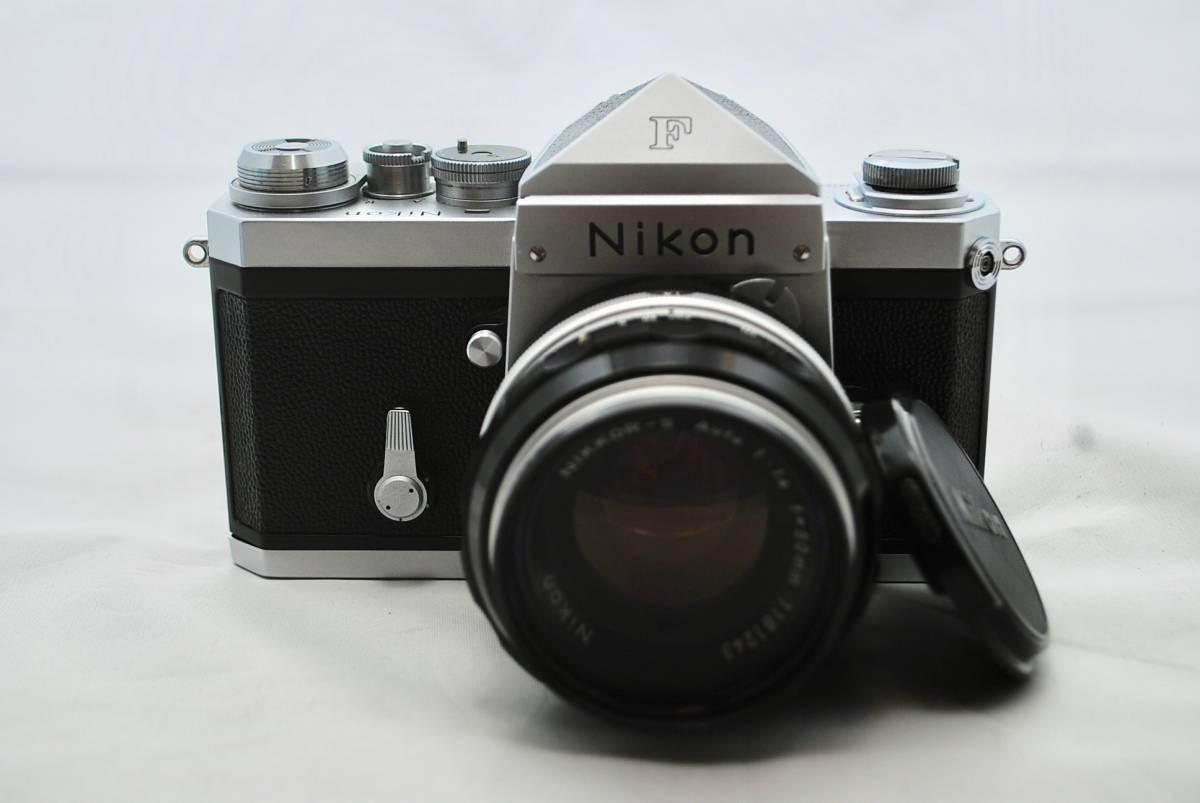 ◯1円スタート ★美品・シャッター可★ Nikon F NIKKOR 1:1.4 / 50mm ニコン フォトミックFTNファインダー付 #49