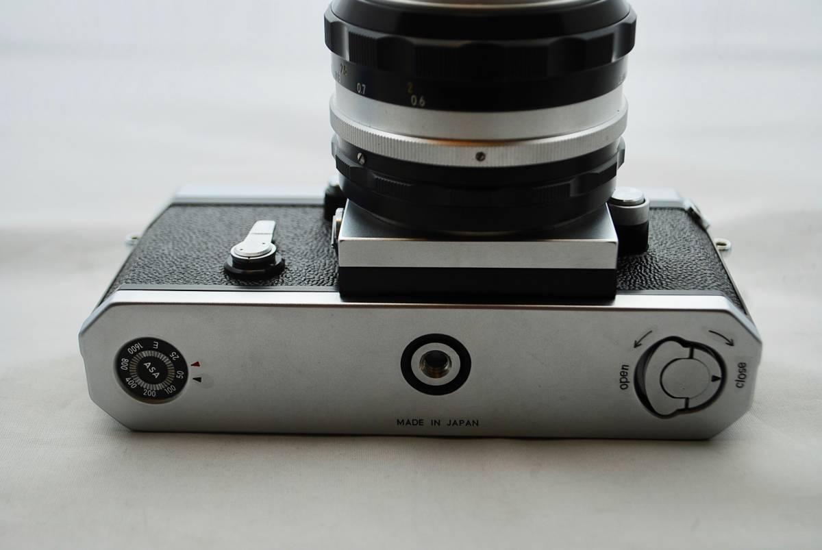 ◯1円スタート ★美品・シャッター可★ Nikon F NIKKOR 1:1.4 / 50mm ニコン フォトミックFTNファインダー付 #49_画像7