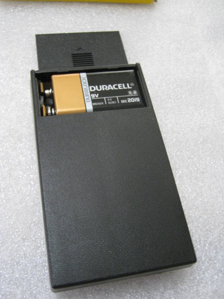 【電卓】超小型 RPN 逆ポーランド法入力 ミニ電卓 赤色LED表示_画像3