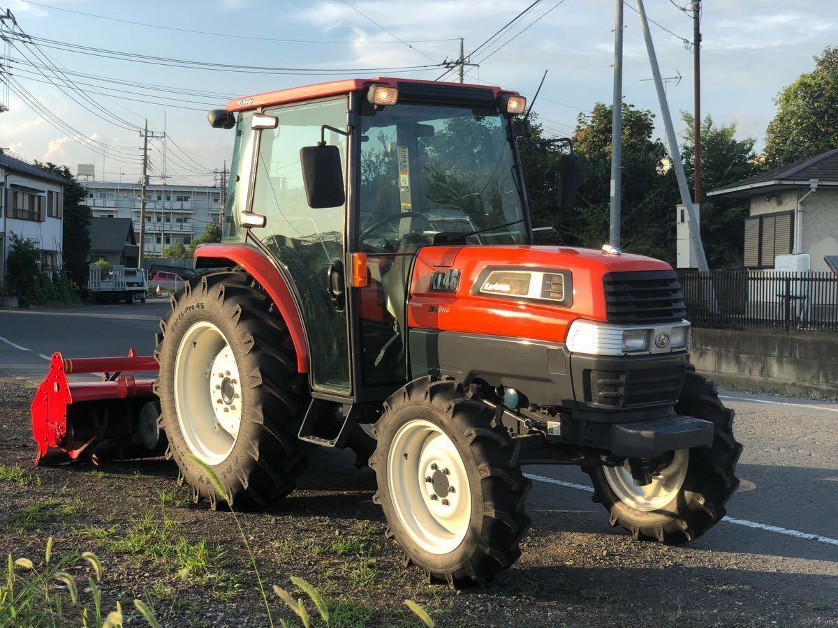 Kubota tractor KL 46 * 46 horse power * is chair pido* power