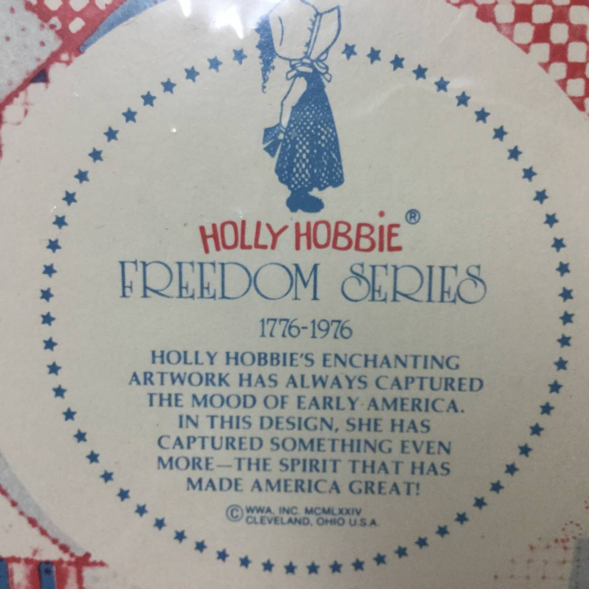 ■ARTBOOK_OUTLET■ 62-049 ★ 未開封 ホーリーホビー ヴィンテージ コレクター プレート 1974年 HOLLY HOBBIE VINTAGE COLLECTOR PLATE 3_画像3