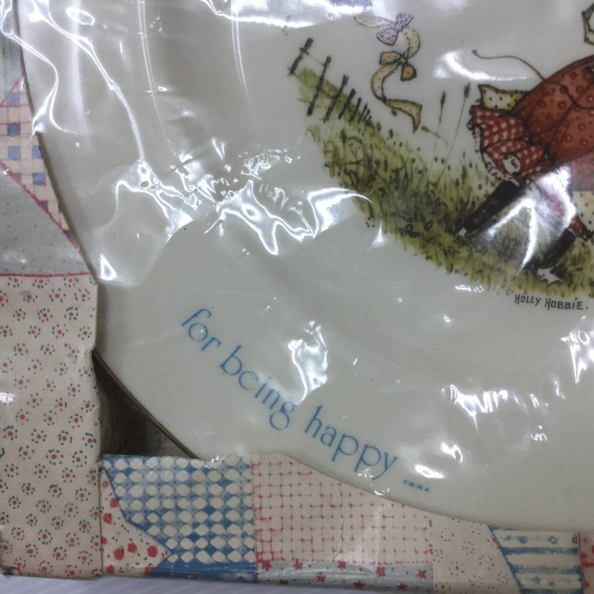 ■ARTBOOK_OUTLET■ 62-049 ★ 未開封 ホーリーホビー ヴィンテージ コレクター プレート 1974年 HOLLY HOBBIE VINTAGE COLLECTOR PLATE 3_画像5