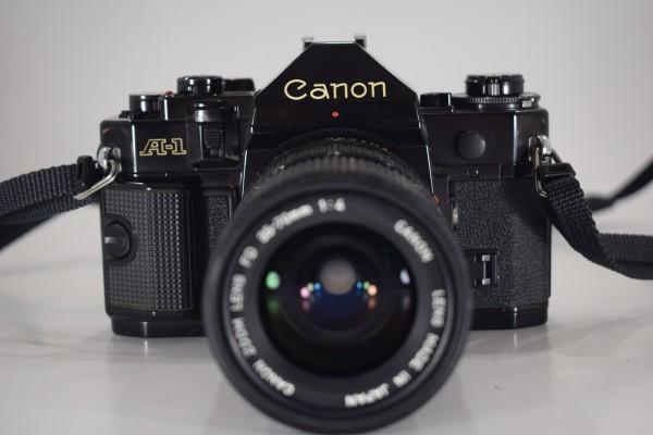 Canon キャノン A-1 一眼レフ カメラ レンズ FD 35-70mm 1:4 当時物 フィルムカメラ OT-324_画像3