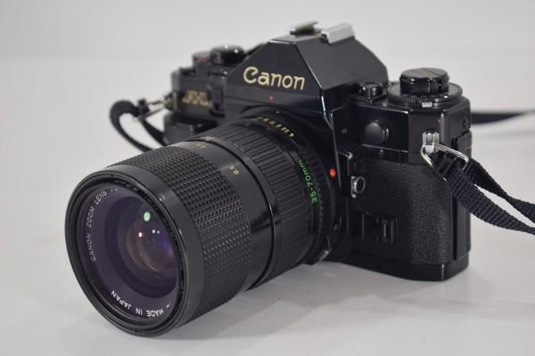 Canon キャノン A-1 一眼レフ カメラ レンズ FD 35-70mm 1:4 当時物 フィルムカメラ OT-324_画像10