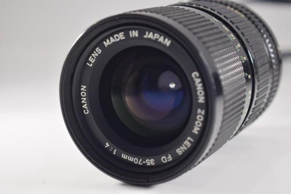 Canon キャノン A-1 一眼レフ カメラ レンズ FD 35-70mm 1:4 当時物 フィルムカメラ OT-324_画像4