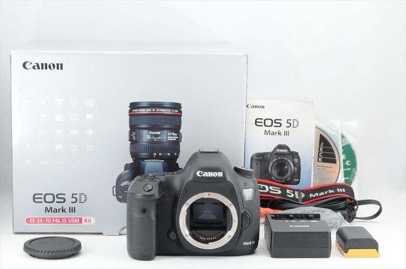 ★超極上品★Canon EOS 5D Mark III ボディ 付属品有 #3906ESS