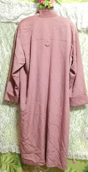 ピンクロングコート羽織/カーディガン Pink long coat/cardigan_画像3
