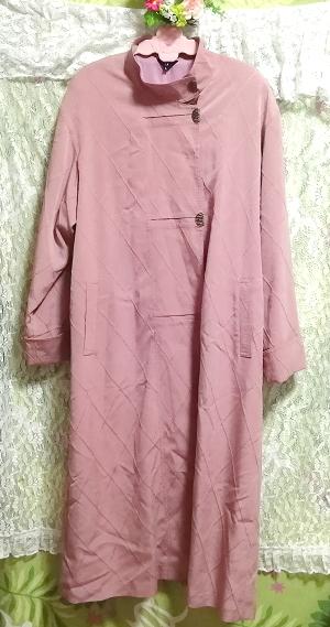 ピンクロングコート羽織/カーディガン Pink long coat/cardigan_画像2