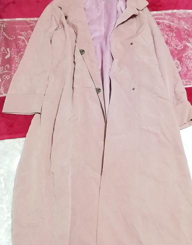 ピンクロングコート羽織/カーディガン Pink long coat/cardigan_画像8