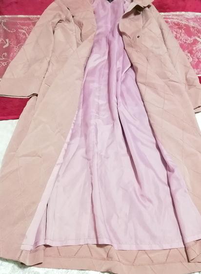 ピンクロングコート羽織/カーディガン Pink long coat/cardigan_画像7