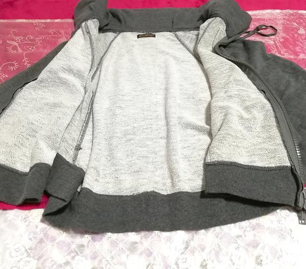灰グレーポンチョ風カーディガンチュニック/トップス Gray poncho style cardigan tunic/tops_画像4