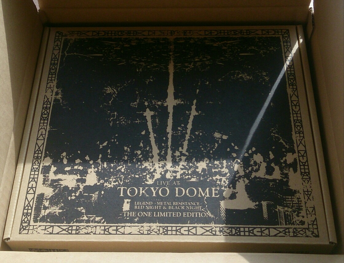 BABYMETAL 『LIVE AT TOKYO DOME - THE ONE LIMITED EDITION - 』 THE ONE限定 東京ドーム_画像1
