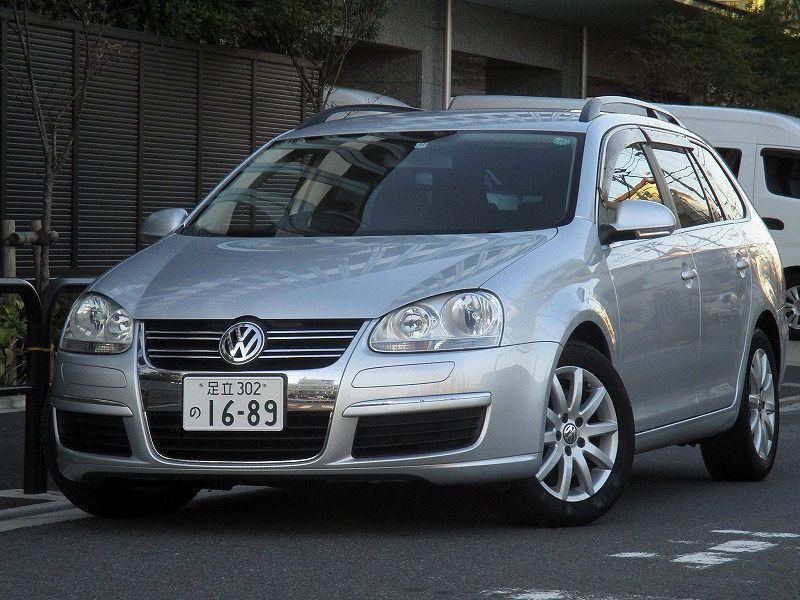 ☆07y VWゴルフヴァリアント TSIコンフォートライン DSG ターボ+Sチャージャー タイミングチェーン キーレス2本 機関好調 検H32年10月28日