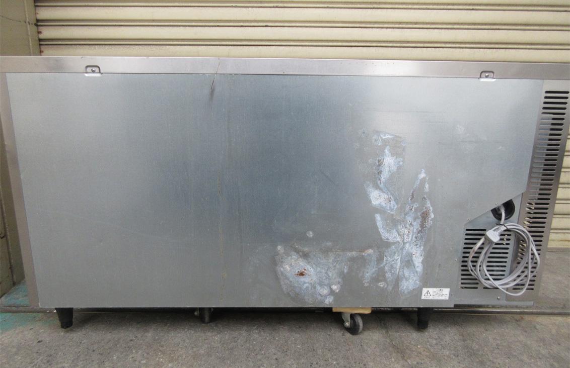 ◎送料無料地域有(一部負担)◎ホシザキ 業務用テーブル形冷凍冷蔵庫◎RFT-150SNF-E◎2017年製◎W1500mm(幅1500mm)◎ ②_画像9