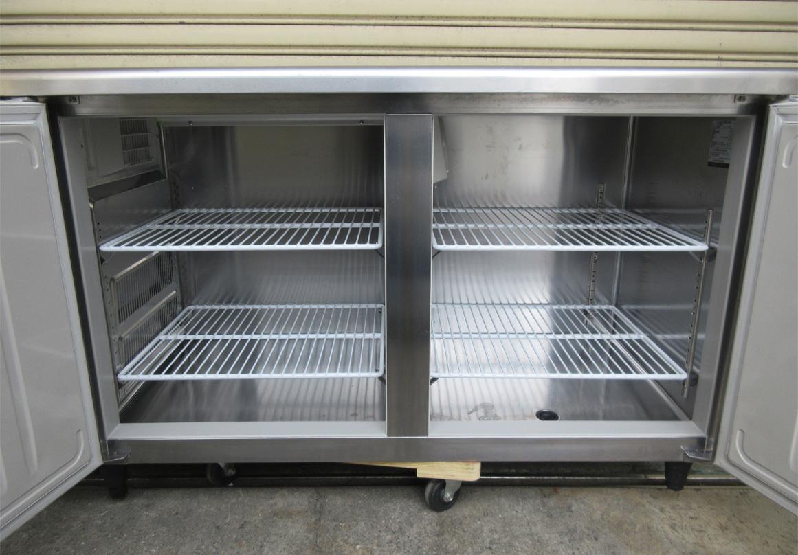 ◎送料無料地域有(一部負担)◎ホシザキ 業務用テーブル形冷凍冷蔵庫◎RFT-150SNF-E◎2017年製◎W1500mm(幅1500mm)◎ ②_画像5
