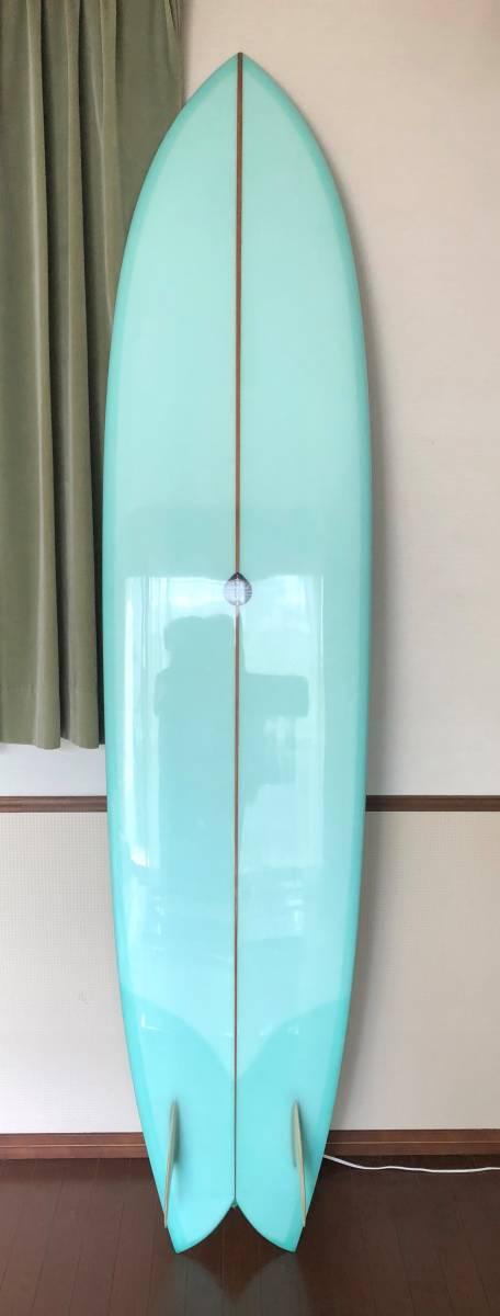 """最高のグライド 最速ボード Fish Simmons フィッシュシモンズ TWIN  JOSH HOLL 8'3"""" _画像2"""