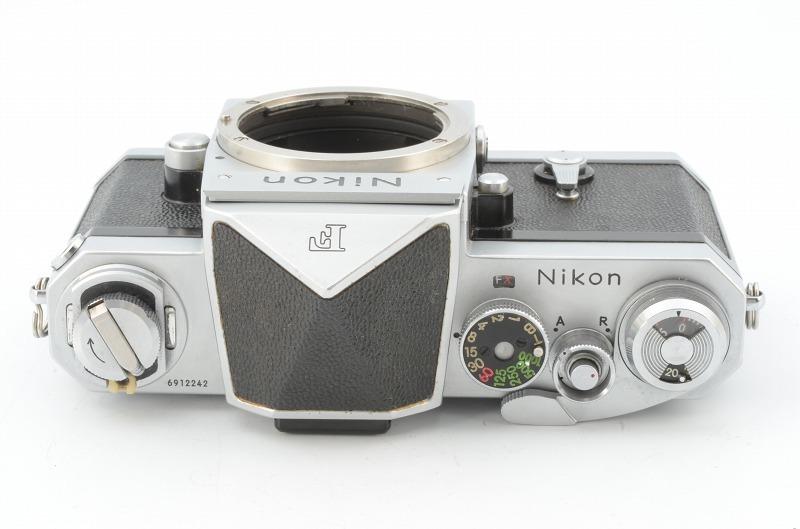 ニコン Nikon F アイレベル シルバー 6912242_画像3