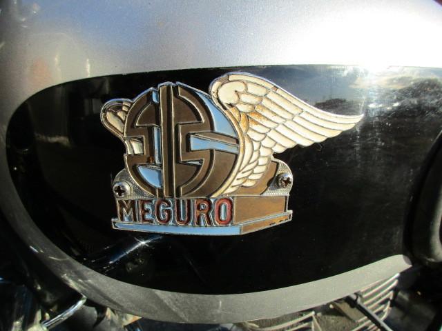 KAWASAKI MEGURO カワサキ メグロ SG 250 走行少ない 初期型? 返納書アリ!_画像4