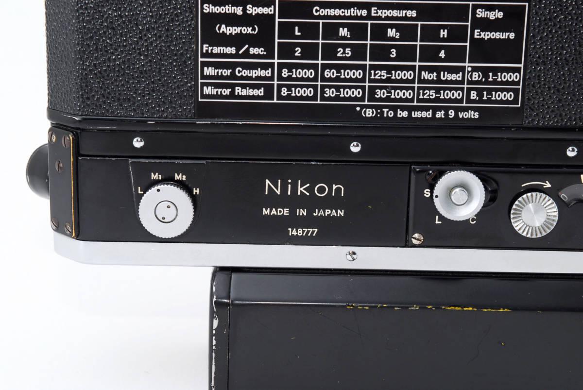 ★希少★Nikon ニコンF モータードライブ F-36★ブラック★後期型★_画像6