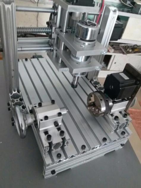 【送料無料】最新版 CNC3020 4軸 フライス盤 nc 旋盤