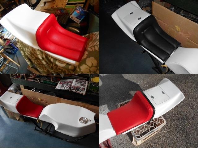 KH250 KH400 FRP シングルシート カフェレーサー_画像4