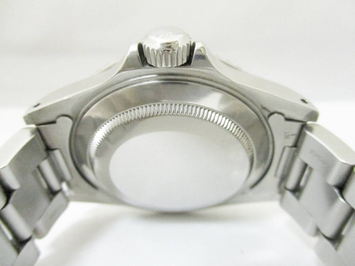 ★1円★ROLEX ロレックス サブマリーナ Ref14060 A番 メンズ腕時計 箱保・コマ付き 稼働品★A2110_画像5