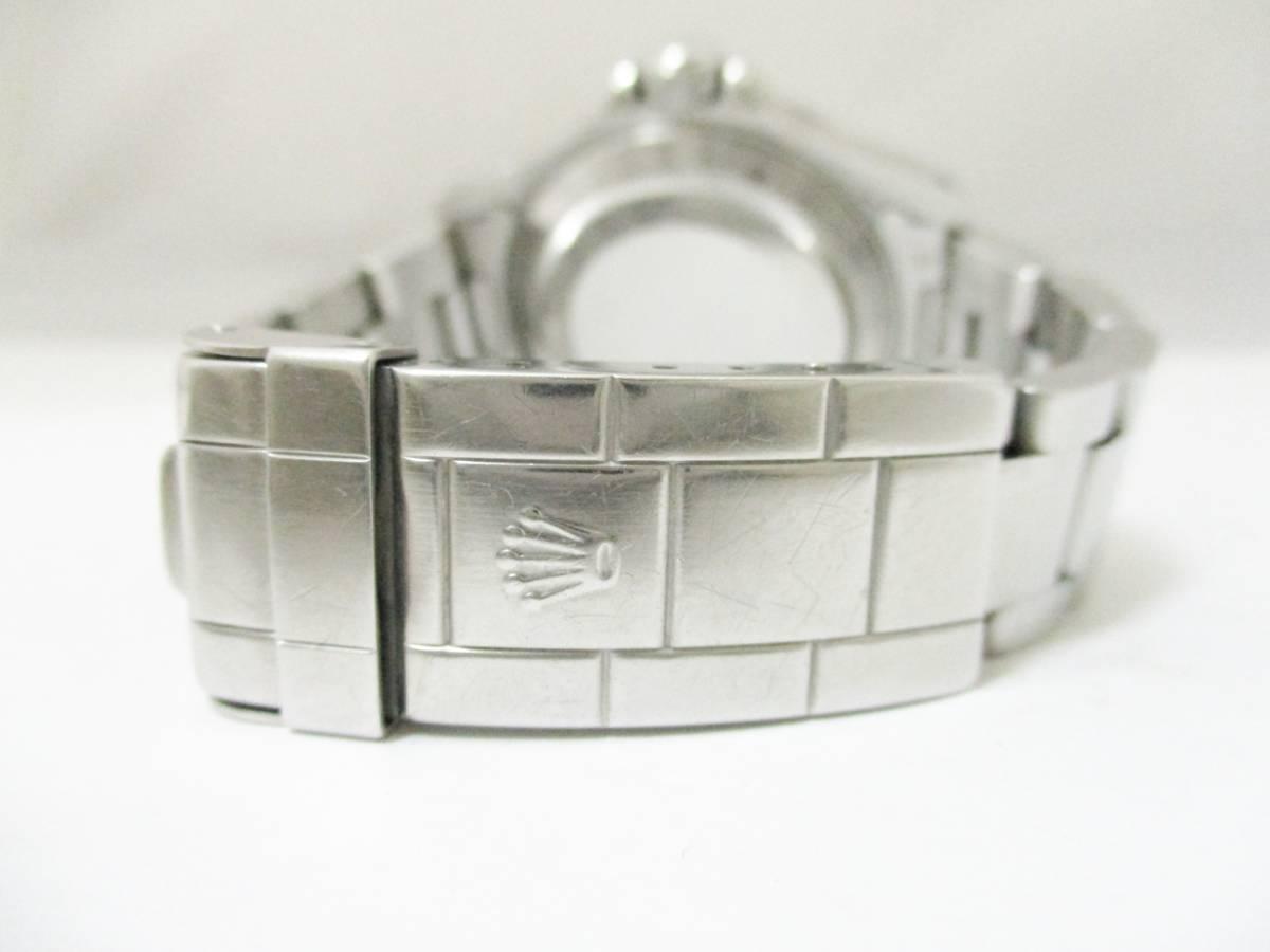 ★1円★ROLEX ロレックス サブマリーナ Ref14060 A番 メンズ腕時計 箱保・コマ付き 稼働品★A2110_画像8