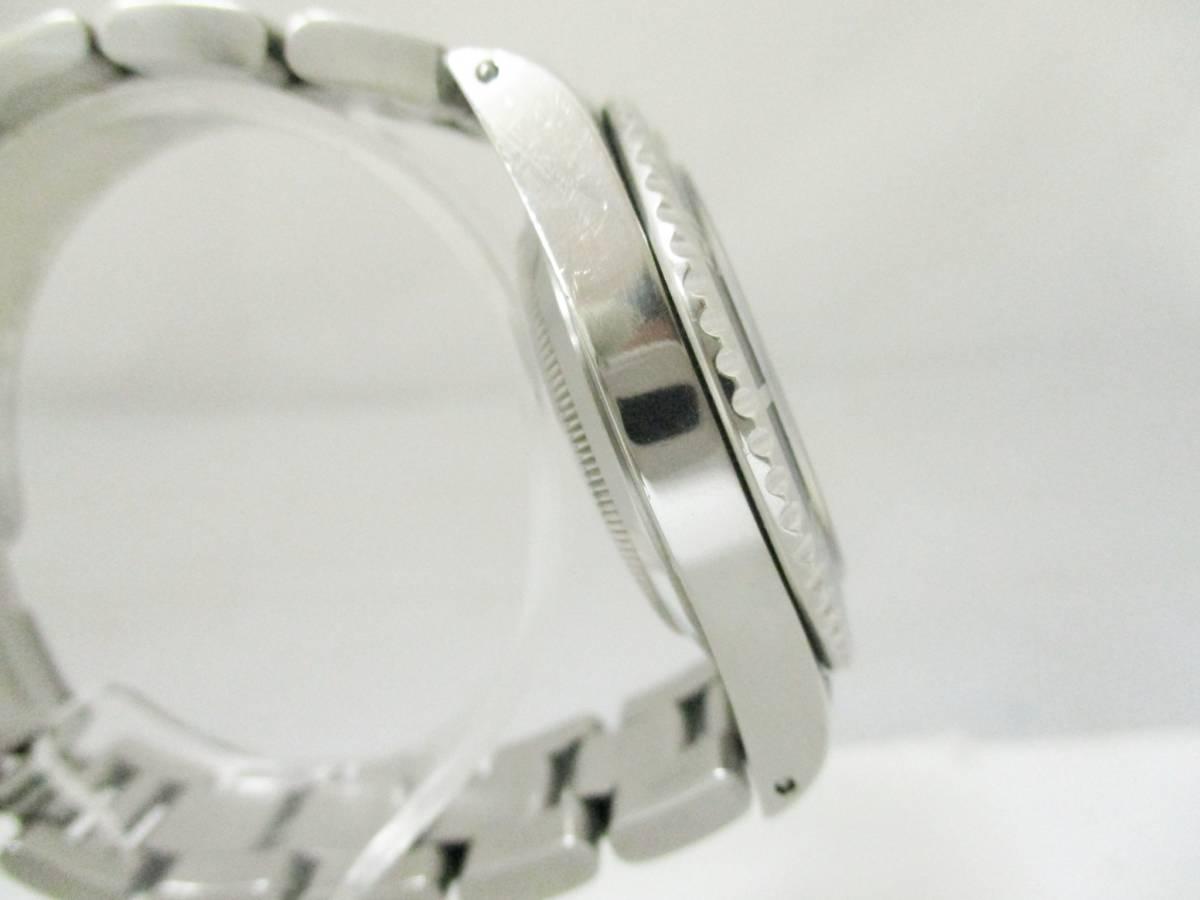 ★1円★ROLEX ロレックス サブマリーナ Ref14060 A番 メンズ腕時計 箱保・コマ付き 稼働品★A2110_画像4