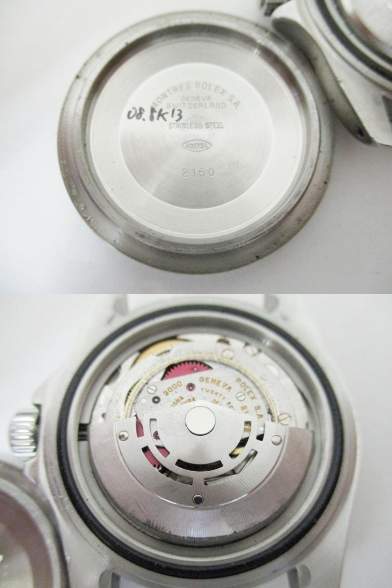 ★1円★ROLEX ロレックス サブマリーナ Ref14060 A番 メンズ腕時計 箱保・コマ付き 稼働品★A2110_画像2