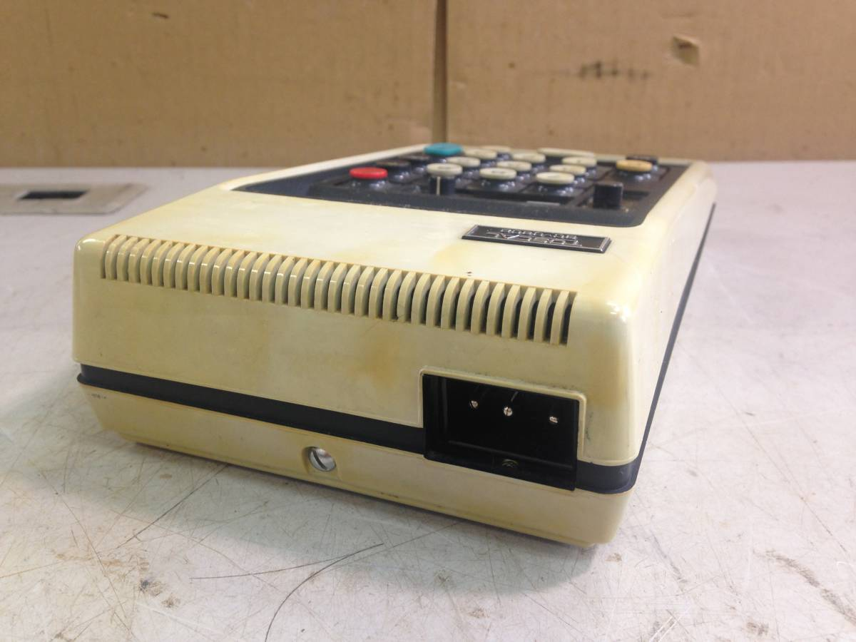 Q612 レトロ家電 昭和 東芝 電卓 BC-0802 Toscal ELECTRONIC CALCULATOR_画像2