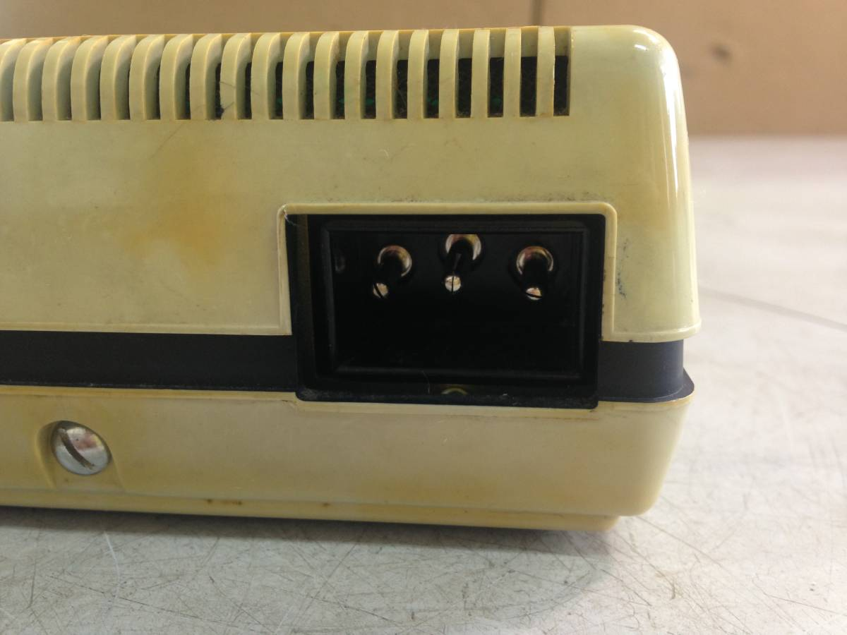 Q612 レトロ家電 昭和 東芝 電卓 BC-0802 Toscal ELECTRONIC CALCULATOR_画像4