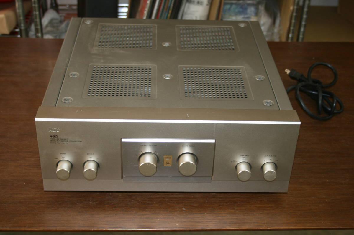 ジャンク NEC A-10X プリメインアンプ インテグレーテッドアンプ 音響 機材 オーディオ
