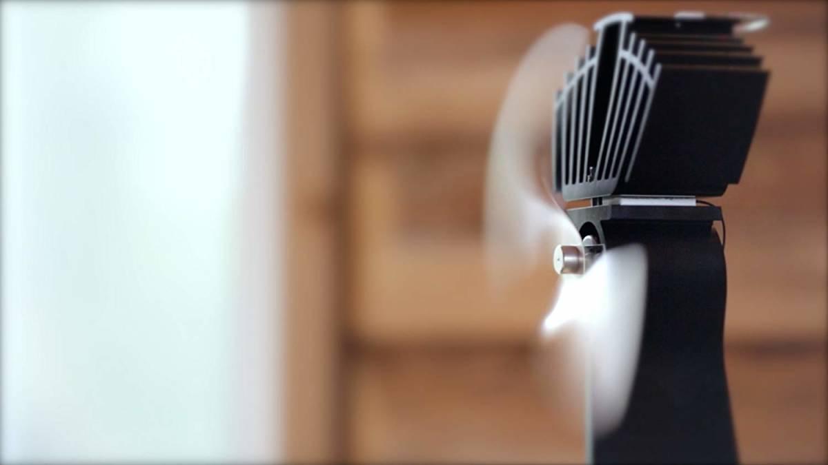 カナダ カフラモ社製 薪ストーブ用エコファン エアーマックス Caframo Airmax 812AMKBX 商品代金+送料=支払合計¥19800円_画像2