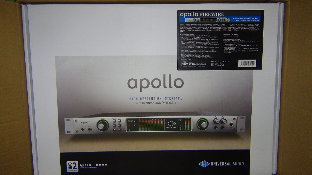 ★即決★Universal Audio APOLLO QUAD FireWireとプラグイン$597分★UAD-2_画像1