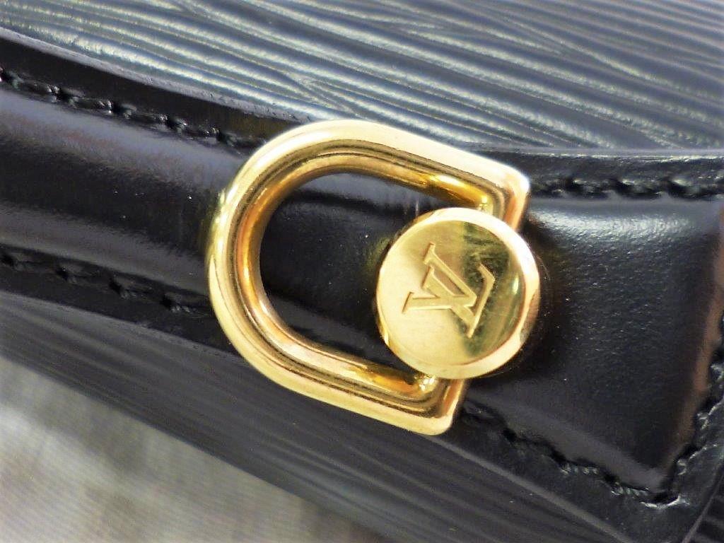 LOUIS VUITTON ルイヴィトン エピ モンソー M52122 ノワール ショルダーストラップ・保存袋付 2WAY ハンドバッグ ビジネスバッグ☆ZH10187_画像9