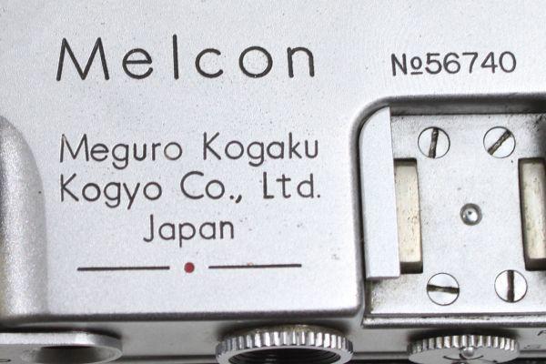 m 目黒光学工業 melcon メルコン カメラ japan no56740 コピー