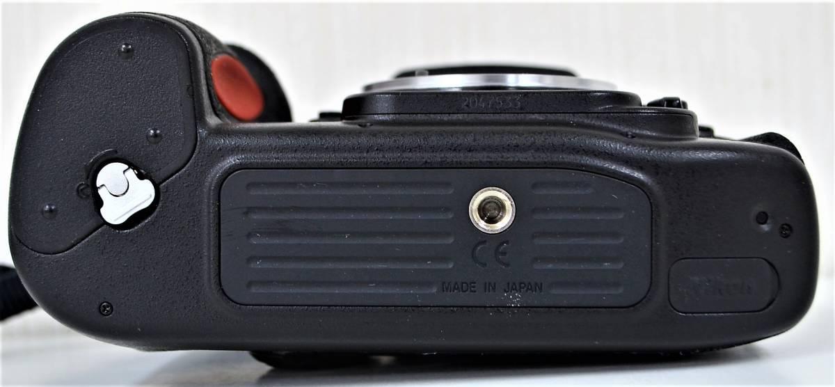4★ ニコン Nikon F100 レンズ Nikon AF NIKKOR 28-105mm 1:3.5-4.5 D レンズフィルター Kenko 前部レンズキャップ ストラップ付き_画像10