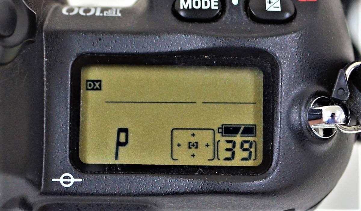 4★ ニコン Nikon F100 レンズ Nikon AF NIKKOR 28-105mm 1:3.5-4.5 D レンズフィルター Kenko 前部レンズキャップ ストラップ付き_画像9