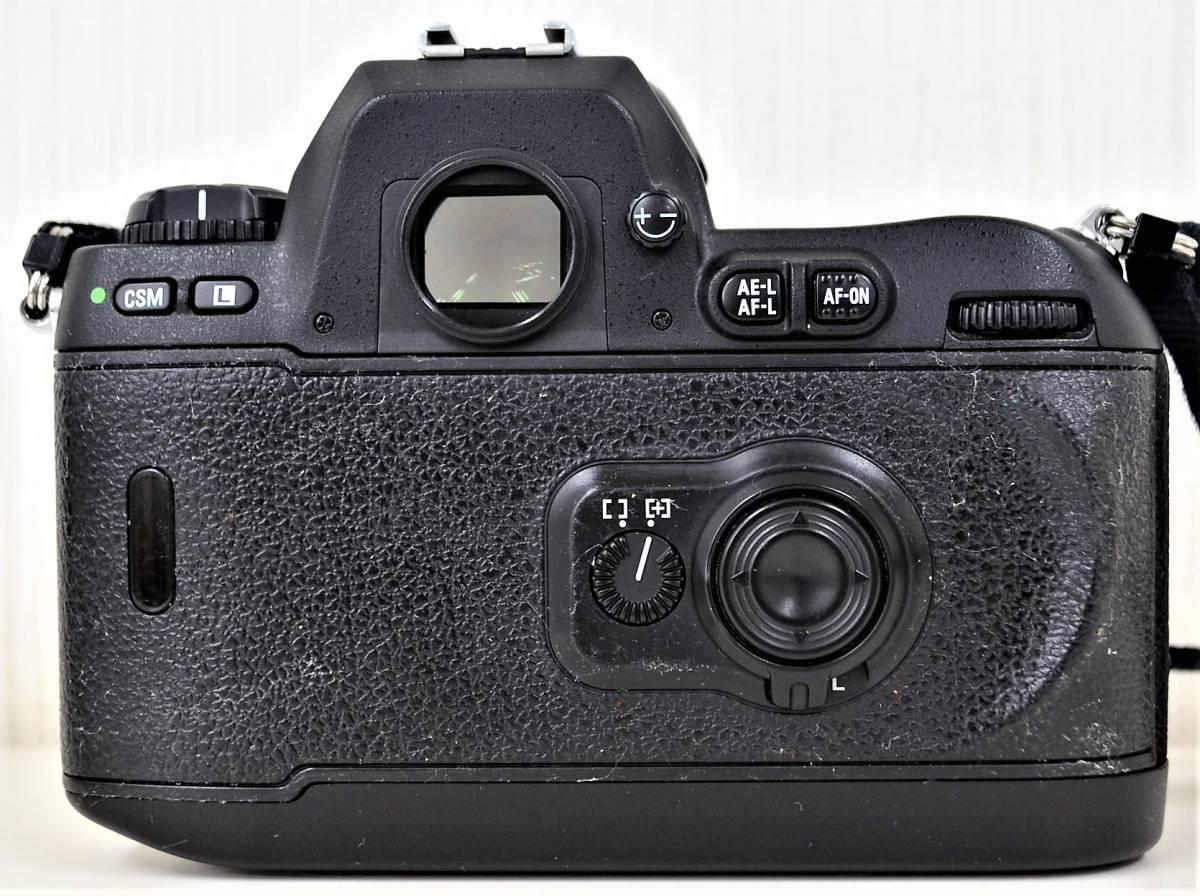 4★ ニコン Nikon F100 レンズ Nikon AF NIKKOR 28-105mm 1:3.5-4.5 D レンズフィルター Kenko 前部レンズキャップ ストラップ付き_画像4