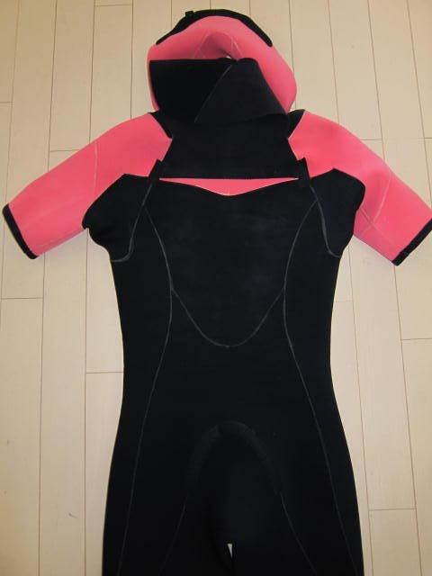 マキシム ウエット スーツ 中古 美品 メンズ 男性 L シーガル 日本製 ノンジップ ウエットスーツ maxim wet_画像3